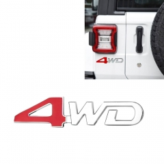 Car Emblems 4WD