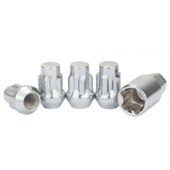 Anti Theft Locking Wheel Nuts (Slot Design) 4PCS