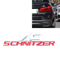 Car Emblems SCHNITZER for BMW