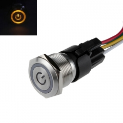 22mm Latching Switch Mounting Hole with LED Angel Eye