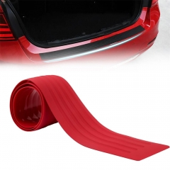 90cm Universal Red Rubber Rear Bumper Protector