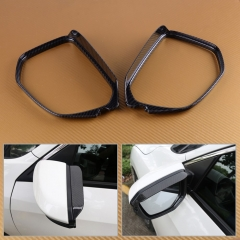 Civic 10th Rearview Mirror Rain Eyebrow Cover Trim