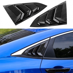 10th Gen Civic Racing Style Rear Window Louvers