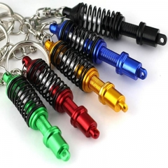 Shock Absorber Shaped Car Key Ring