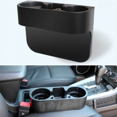 Car Seat Crevice Storage Box Auto Cup Holder