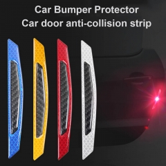 Car Door Bumper Rearview Mirror Reflective Decals Warning Stickers