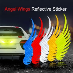 Angel Wing Stickers Reflective Decals
