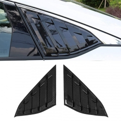 Honda Accord Sedan 2018-2020 Sport Style Rear Window Louvers