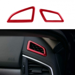 Car Front Air Conditioner Vent Outlet Trim for 10th Gen Civic
