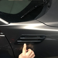 Car Hood Vent Slat Air Wing Trim