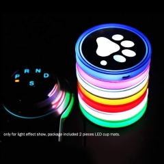 RGB LED Lights Car Drink Coaster