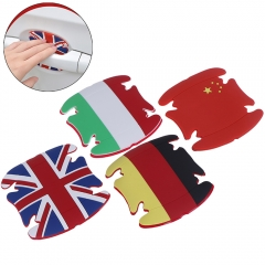 National Flag Style Car Door Handle Scratches Protective Film
