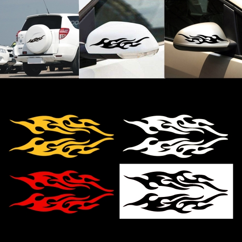 Fire Sticker Car Engine Hood Motorcycle