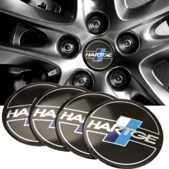 56mm Hartge Sticker Wheel Center Hub Caps For BMW X5 X6 Z4 E60 E90 E53 E49 E46 E39 F30 M4 M5 Range Rover Mini Cooper Car Styling