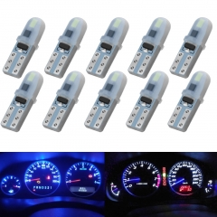 10x T5 LED Instrument Dashboard Lamp Car Dash Indicator Light Panel Bulbs