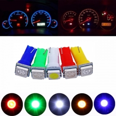 20x Car T5 LED Instrument Light bulbs Auto Dashboards Gauge Lamp
