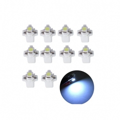 10x T5 B8.3D Car LED BAX10S Speedo Bulb Dashboard Instrument Light Source Side Auto Interior Lighting