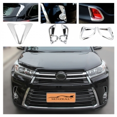 Toyota Highlander 2014-2019 Exterior Decoration Cover Trim
